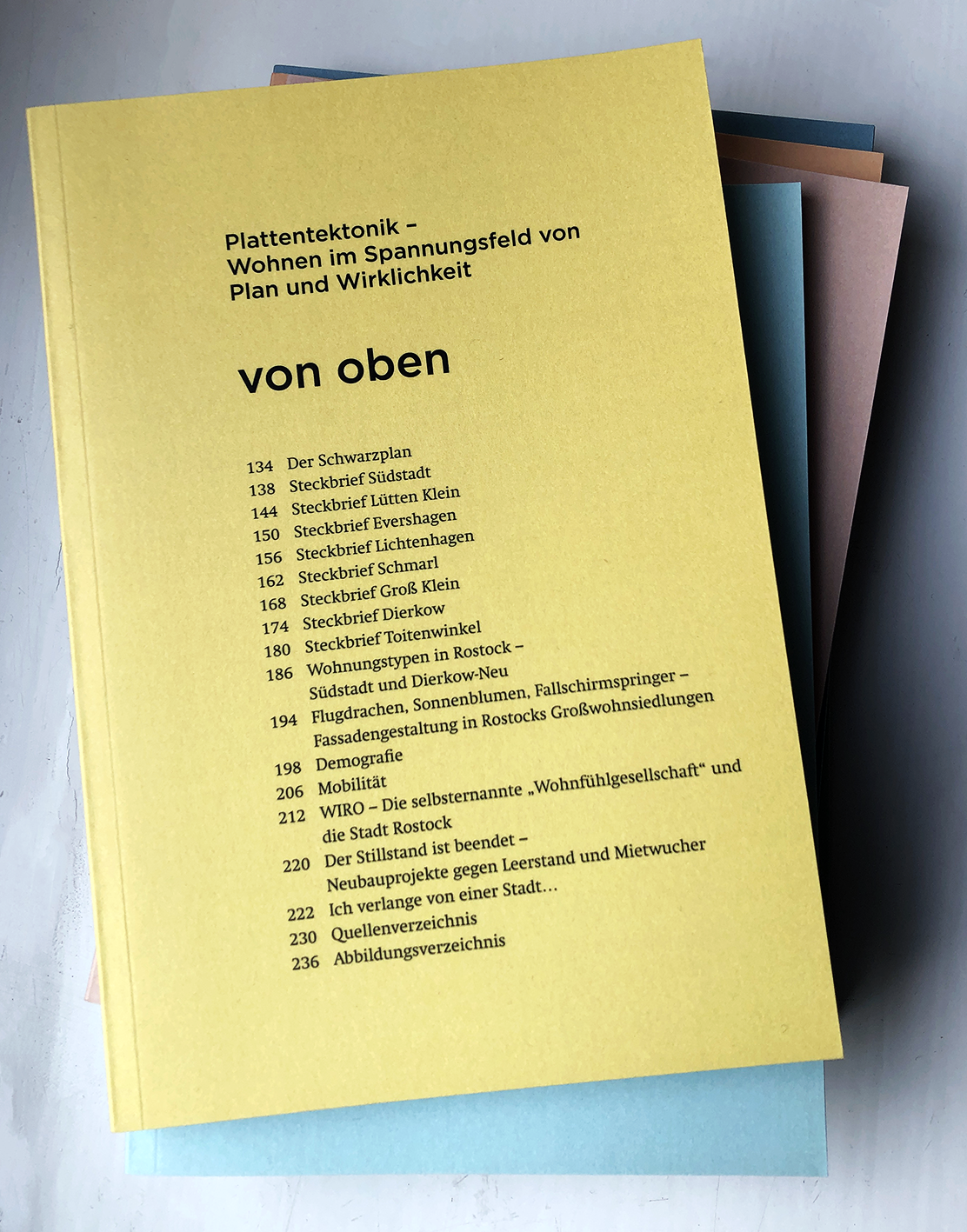 A collection of studies on Rostock's districts. A group work.
