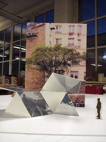 Model of an urban object.