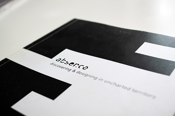 Cover of the documentation of the project 'Absence'.           This work was performed in a team of 4.