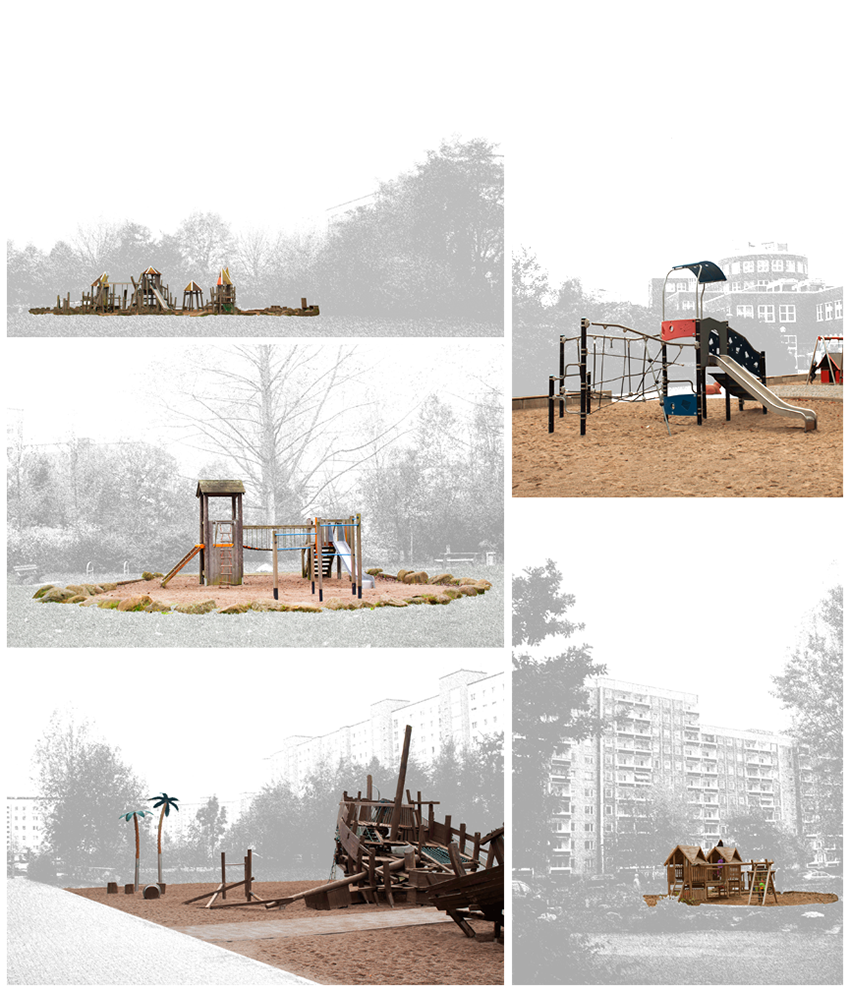 Study on playgrounds in Rostock Groß-Klein.